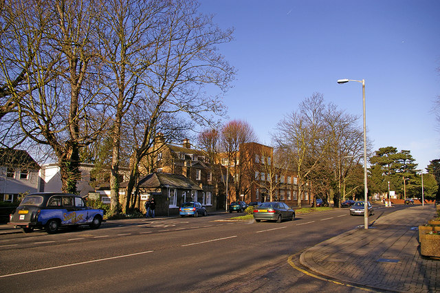 Silver Street, Enfield, looking North