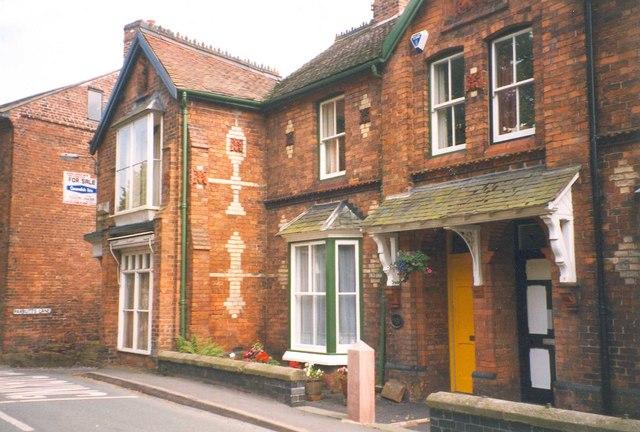 Houses, Church Street, Malpas