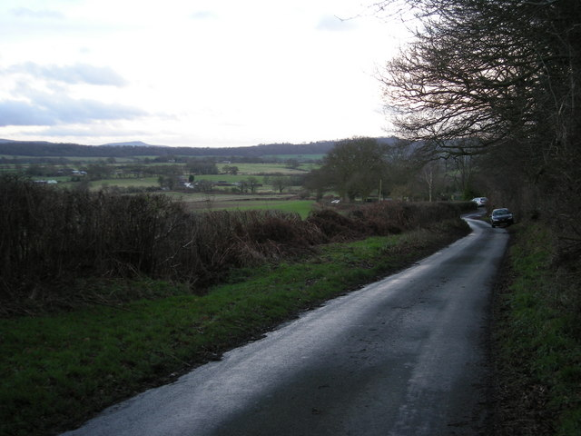 Lane to Longville-in-the-Dale.