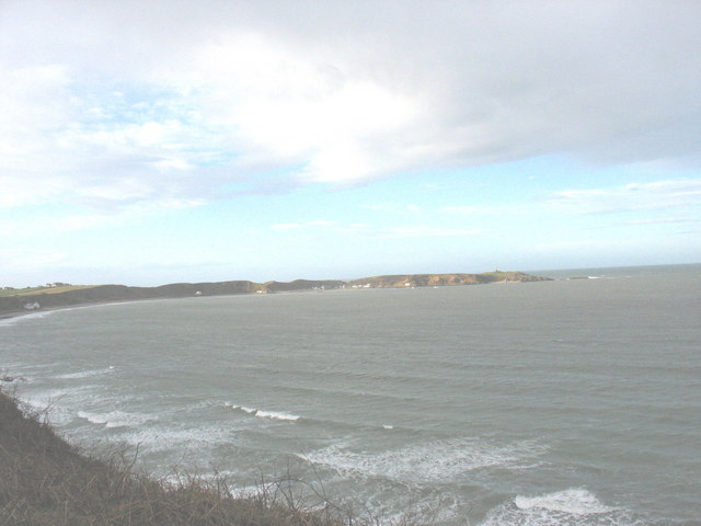 Bae Porthdinllaen Bay from Penrhyn Nefyn