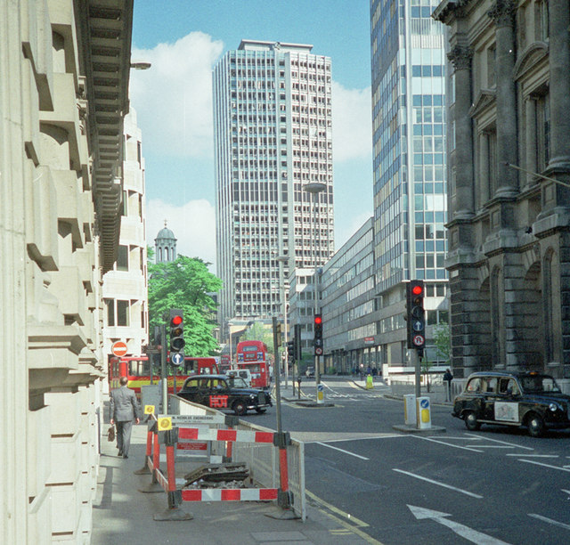 After the Bishopsgate Bomb of 1993