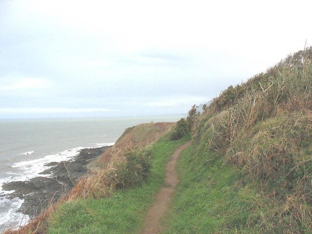 Cliff path west of Penrhyn Nefyn