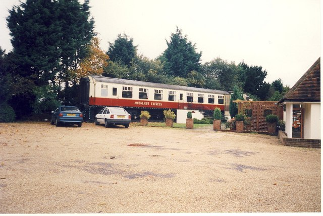 Railway Carriage Restaurant.
