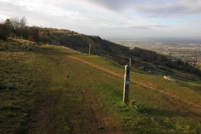 The Cotswold Way on Hartley Hill