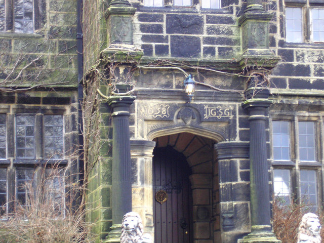 Doorway of Barkisland Hall