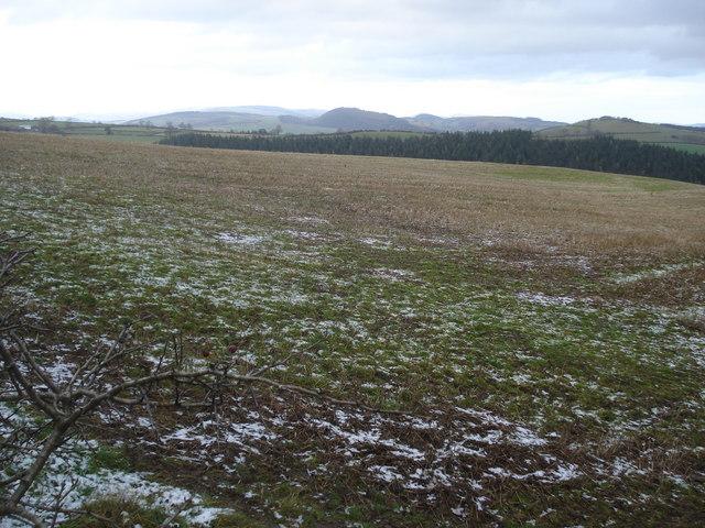 Farmland near Hopton Wood