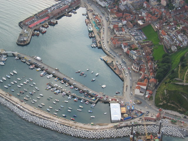 Aerial view of Scarborough South Bay