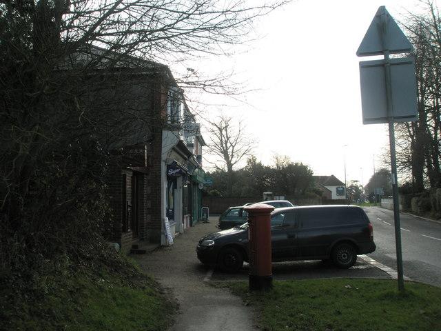 Shops near Bosham station