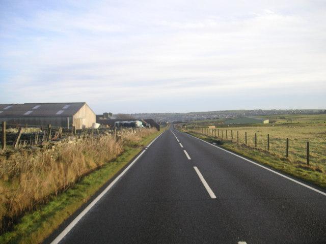 The road approaching Kirkwall