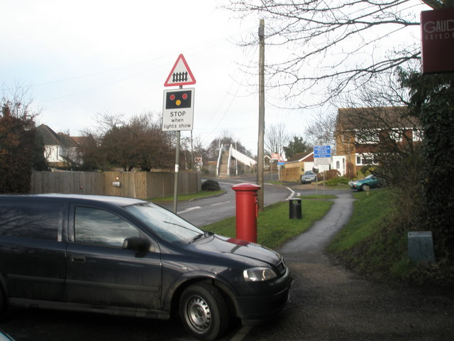 Approaching Bosham Station