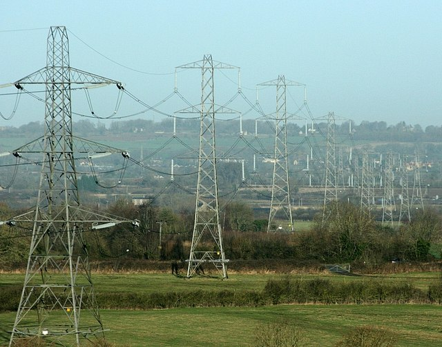 2008 : Pylons from Hag Hill