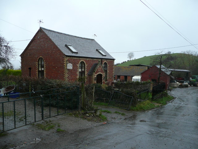 Converted chapel and main street, Meadowtown