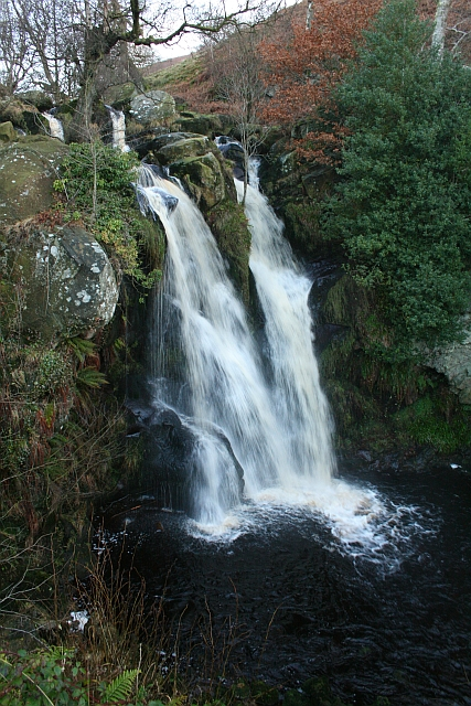 Waterfall in The Valley of Desolation