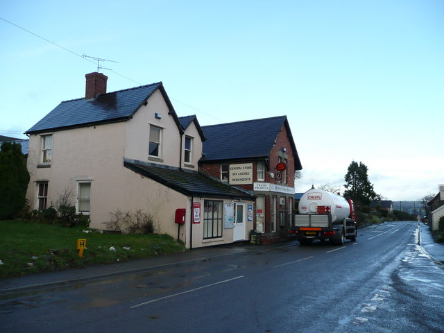 Post office and general store, Marton