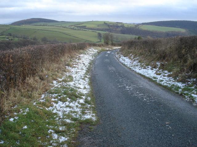 Lane on Hodre Hill