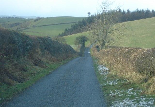 Lane off Hodre Hill