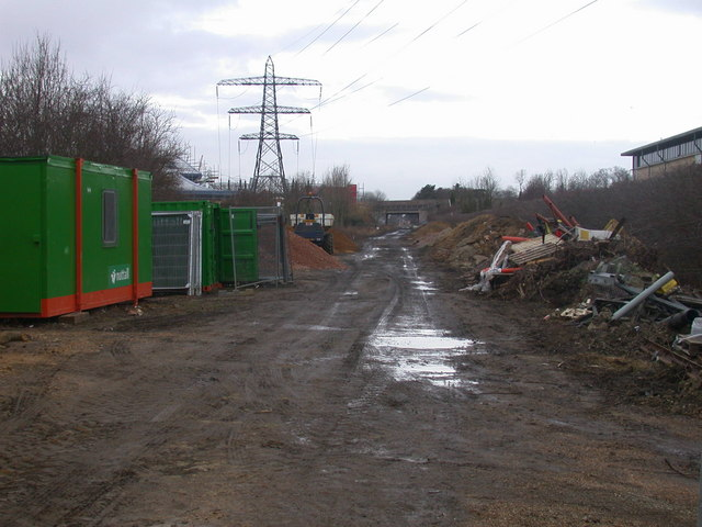 Guided Busway construction