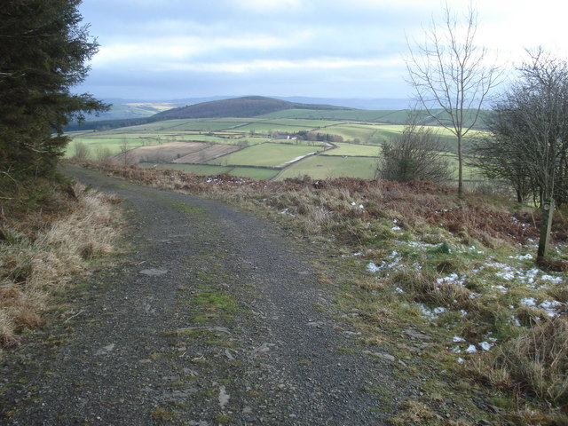 View of Hopton Titterhill from Black Hill