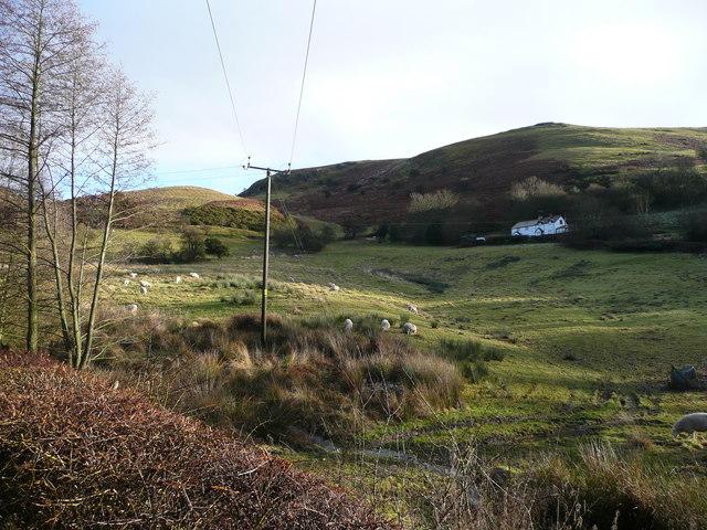Looking eastwards towards Wales