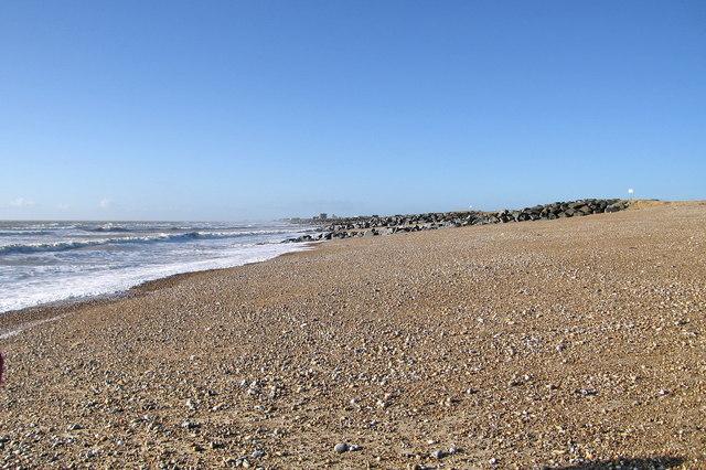 Shoreham Beach near Widewater