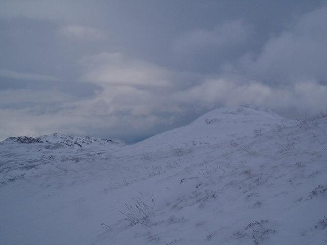 View across the Northern Spur of Ben Vorlich