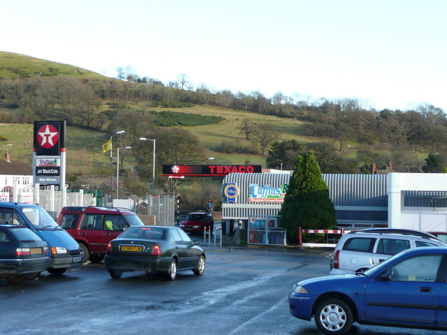 Tuffin's supermarket and petrol station, Churchstoke