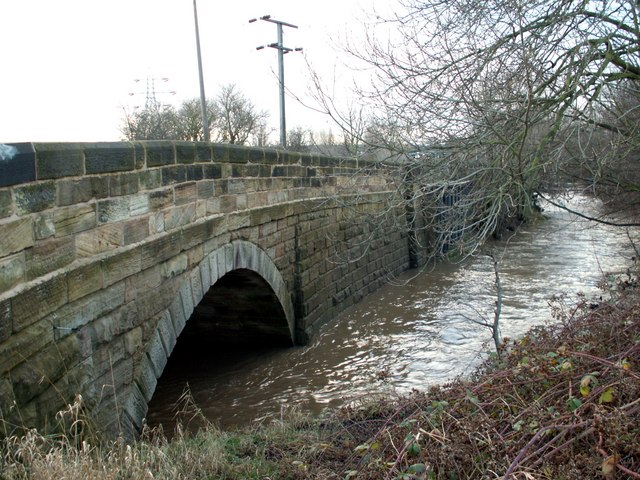 Barugh Bridge and the River Dearne