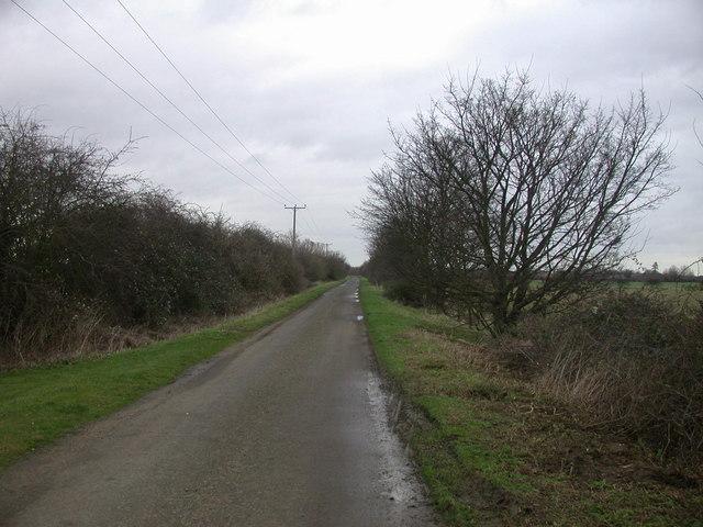 Akeman Street near Landbeach