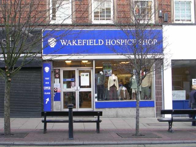 Wakefield Hospice Shop - Westmorland Street