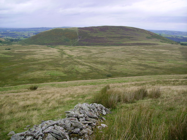 Old Wall above Wythop Moss