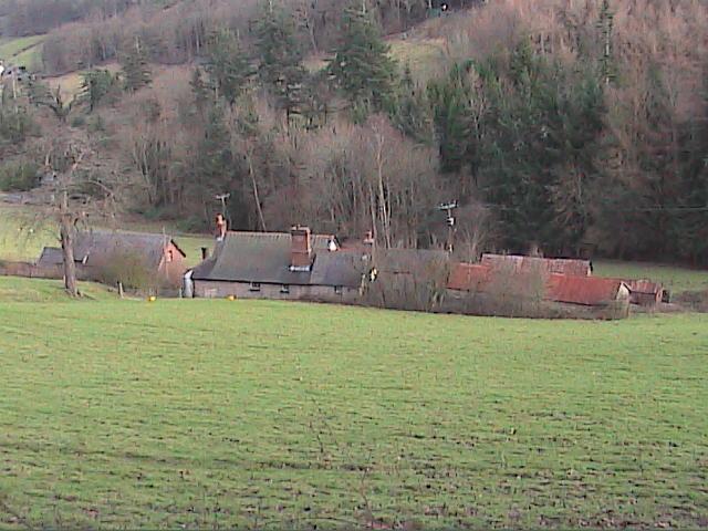 Rear of Eirianallt farm