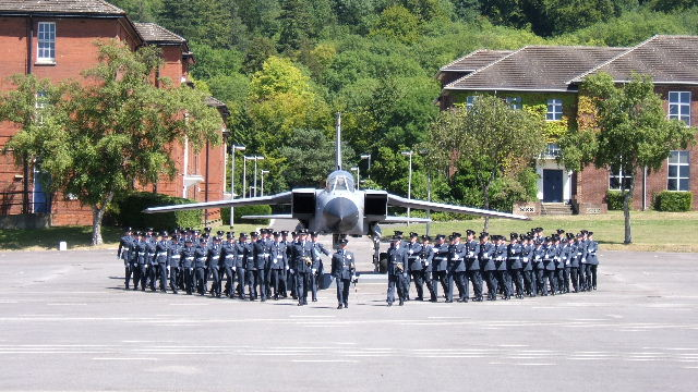 Passing Out Parade, RAF Halton