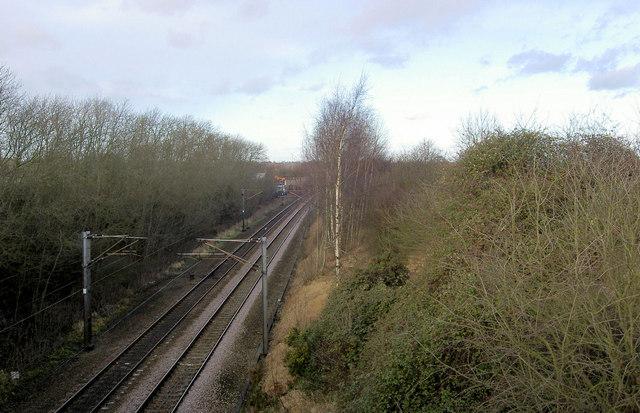 East coast main line north at Tuxford