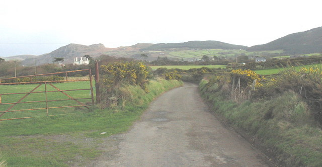 Lon Penrallt - a country lane connecting Nefyn and Morfa Nefyn