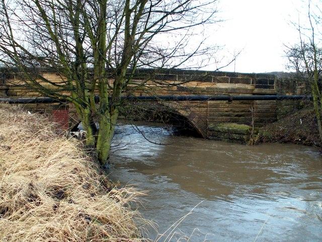 The River Dearne and Barugh Bridge