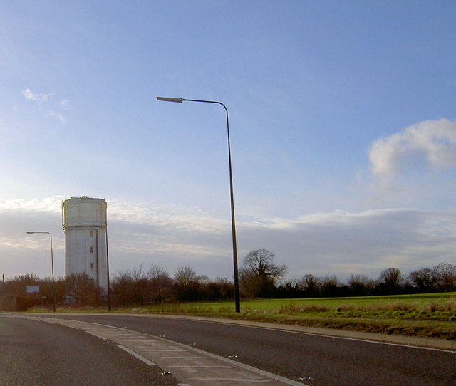 Water tower on Sheffield Road Conisbrough
