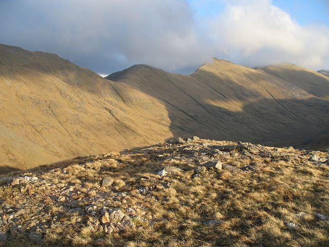 Spur above Coire a' Bhalgaire