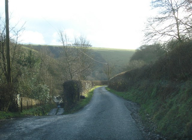 Lane south of Hobarris