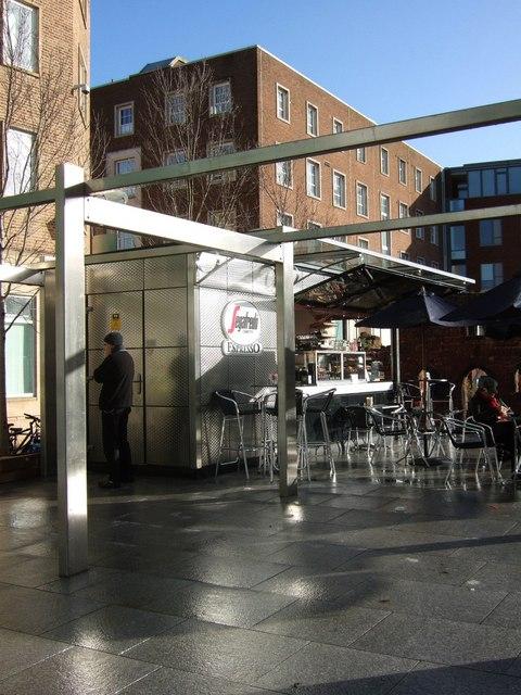 Coffee bar, Catherine Street, Exeter