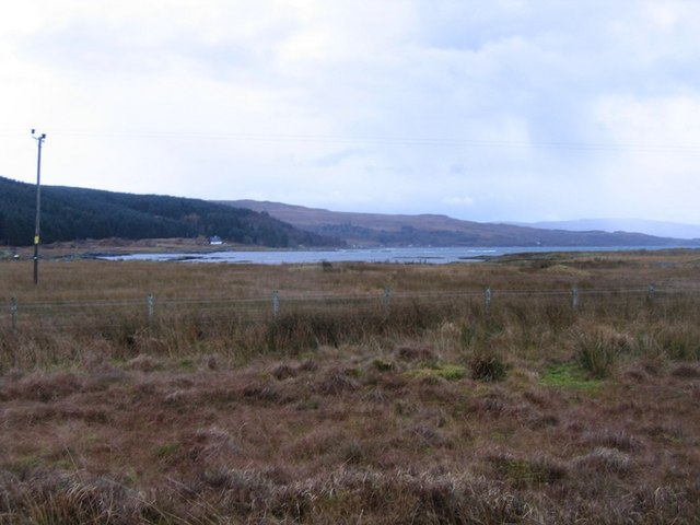 View from Aird of Kinloch