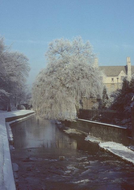 The Cam in winter