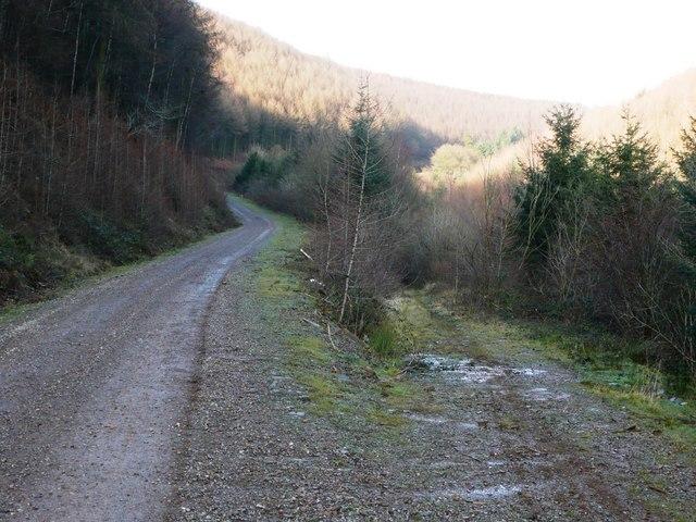 Ascent of Cwm Gwyddon fach