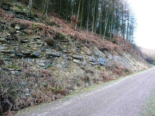 Rocks in Cwm Gwyddon fach