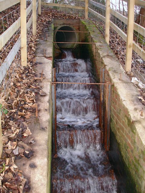 Drain under the A483