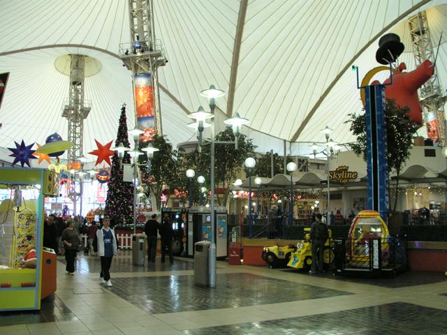 Interior of the Skyline Pavilion