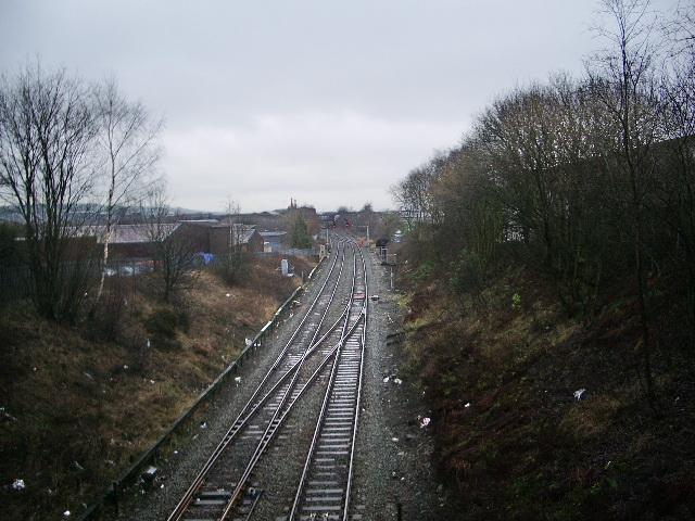 Blackburn to Colne Railway