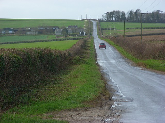 Road above Piddlehinton
