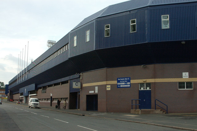 West Bromwich Albion - The Hawthorns, Halfords Lane entrances.