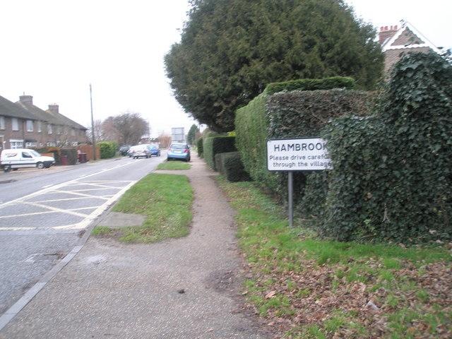 Start of Hambrook parish