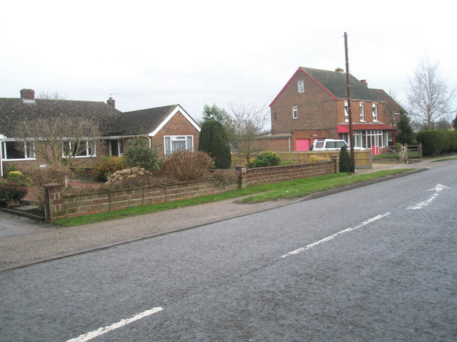 Looking across from Marshall's Yard in Broad Road